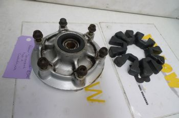 KAWASAKI ER5 C-1 BREAKING.  REAR SPROCKET & HUB + CUSH DRIVE  #5(CON-D)